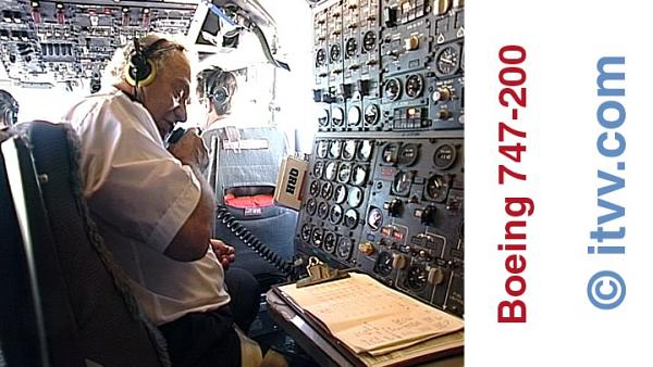 ITVV Boeing 742 Flight-Engineer Alan Bonnick