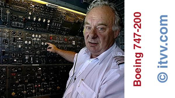 ITVV Boeing 747-200 Senior Flight Engineer Alan Bonnick