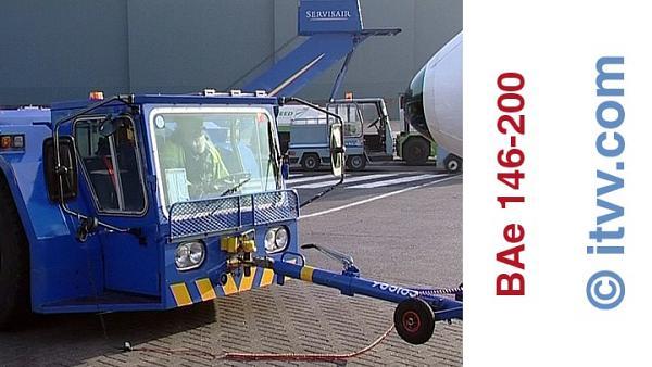 ITVV BAe 146-200 Push Back