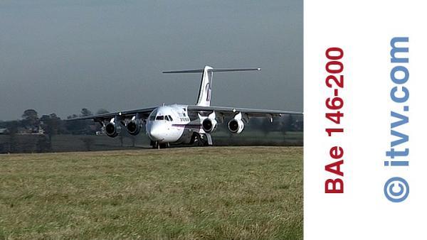 ITVV BAe 146-200 External Take Off Luton