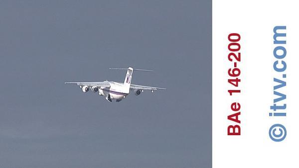 ITVV BAe 146-200 External Climb