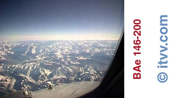 ITVV BAe 146-200 Forward View Alps