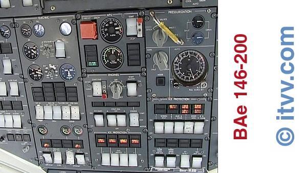 ITVV BAe 146-200 Overhead Panel