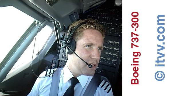 ITVV Boeing 737-300 DVD First Officer Joe Wholihan