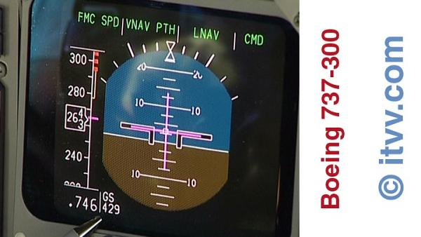 ITVV Boeing 737-300 Primary Flight Display PFD