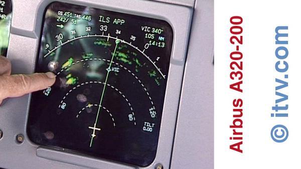 ITVV A320-200 EFIS NAV Display