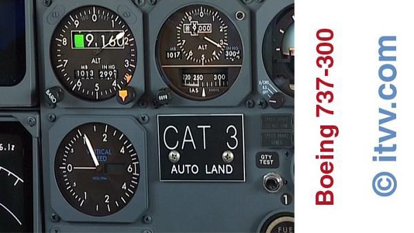 ITVV B737-300 Flightdeck Climb