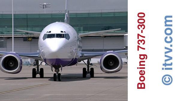 ITVV B737-300 Flightdeck Taxi-In