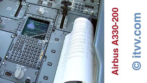 ITVV Airbus A330-200 ACARS Printout
