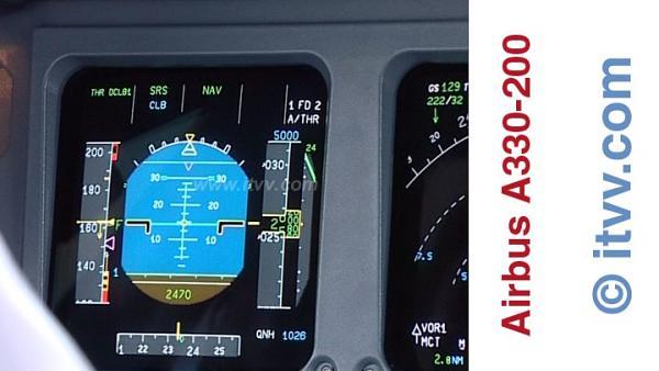 ITVV Airbus A330-200 PFD Climb
