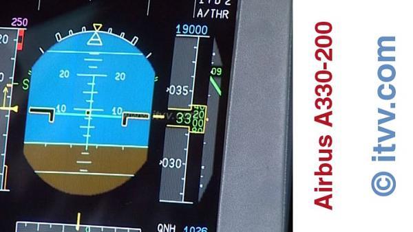 ITVV Airbus A330-200 PFD Climb VSI