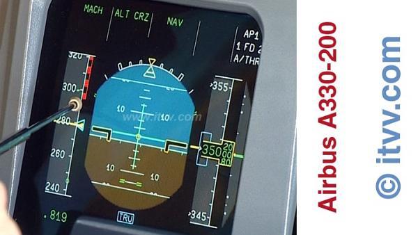 ITVV Airbus A330-200 PFD Speed Tape