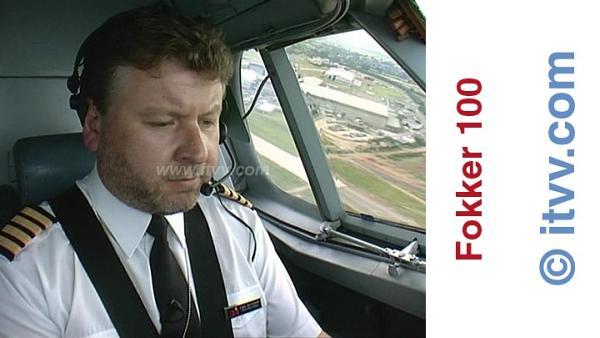 ITVV Fokker 100 Captain Ian Lawrie