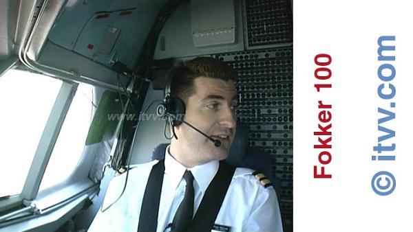 ITVV Fokker 100 First Officer Euan McLean