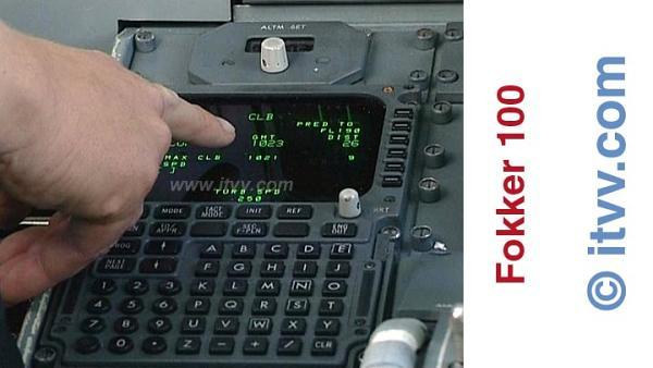 ITVV Fokker 100 FMS Climb Page