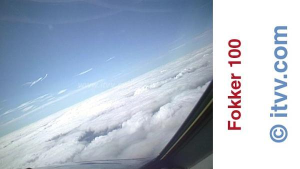 ITVV Fokker 100 Above The Clouds