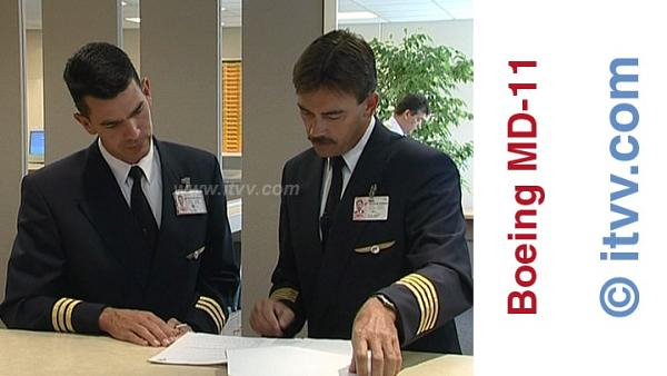 ITVV Boeing MD11 Flight Planning Martinair