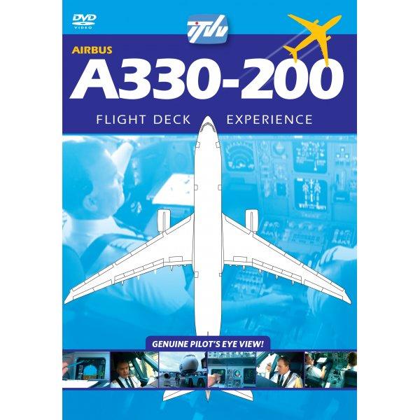 ITVV Airbus A330-200 Flightdeck PAL Video / DVD - VZ AIH Kestrel